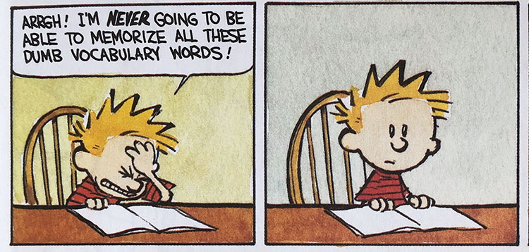 Calvin Vocabulary